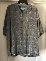 NWOT Bermuda Bay Hawaiian Aloha SS Shirt Size XL