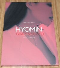 T-ARA What's my name? EP HYOMIN Ver. K-POP CD + PHOTOCARD + POSTER IN TUBE CASE