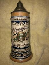 """Olympia Limited Edition 9"""" Lidded Beer Stein - Zap - California"""