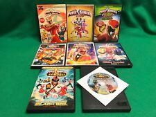 Power Rangers DVD's : Turbo 3 Disc Set Ninja Steel Super MEGAFORCE Samurai Dino
