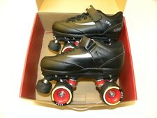 Chaya Ruby Hard Skates Size 6 Quad Roller Skate Indoor Derby Black, Red New