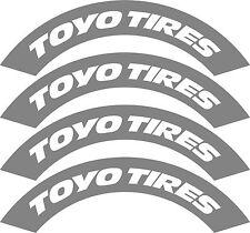 4x TOYO TIRES pneu Stencils, Rauh Welt, Illest, Fatlace, Rsf, DRIFT