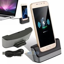 Micro USB Data Sync Charging Dock Station Charger Cradle For Samsung Galaxy S7