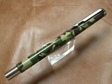 PARKER VECTOR ROLLER BALL PEN IN CAMOUFLAGE USED CONDITION NEW REFILL