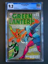 GREEN LANTERN #43, DC Comics, CGC 9.2 grade, 1st Major Disaster