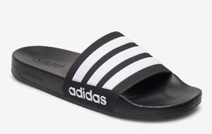 Adidas neo Adilette Cloudfoam Badelatschen Saunaschuhe Badeschuhe Badeschlappen