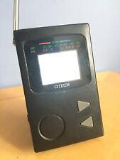 VINTAGE Citizen ST995-IB Pocket TV a colori LCD TV MINI di lavoro