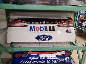 Kurt Busch Nascar Race Used Sheet Metal Rear Bumper Cover