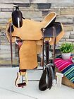 """16.5"""" J Bar Saddle- All Around, Ranch, Working Saddle, Trail-8""""Gullet, Wide Tree"""