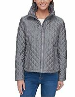 Marc New York Ladies' (Gray, L) Quilted Jacket - NWOT