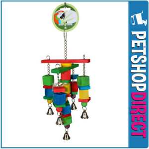 Green Parrot Bird Toy SKUZZLE (FREE DELIVERY)
