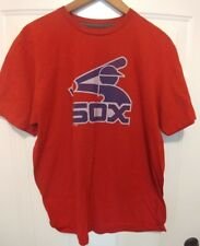 Majestic MLB Womens Chicago White Sox Baseball Shirt NWT XL Red