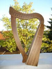 Pentatonische Harfe mit 12 Bronzeaiten + Zubehör / Außergewöhnlicher Klang, Medi