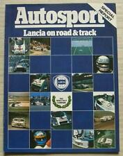 More details for lancia autosport rally special report car magazine oct 1983 volume x