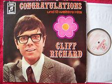 Cliff Richard - Congratulations und 13 weitere Hits  german gold-weiss Columbia