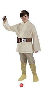 Rubies Star Wars Deluxe Luke Skywalker costume Medium Halloween 8-10 Ages 5-7