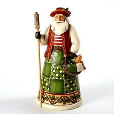 Jim Shore ITALIAN SANTA FIGURINE 4022915 Greetings From Babbo Natale Santa BNIB
