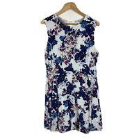 Marcs Womens Dress Size 10 Floral Sleeveless Sheath Dress Good Condition