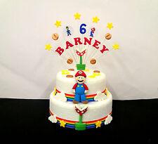 PACCO Super mario topper torta di compleanno and sfuso decorazione torte set