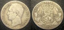 Belgique - Léopold Ier - 20 centimes argent 1852 avec points ! KM#19