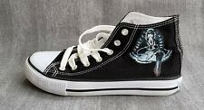 More details for japanese anime danganronpa high top shoes size 5 squid game girls converse