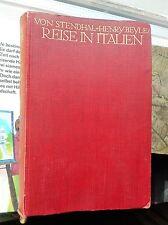 Stendhal (Henri Beyle): viaggio in Italia 1911 Eugen Diederichs Jena OLN.
