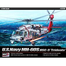 ACADEMY #12120 1/35 Plastic Pramodel Kit U.S. Navy MH-60S HSC-9 'Tridents'