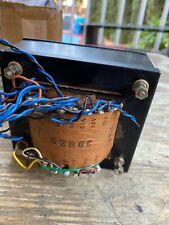 Huge Japanese Vacuum Tube Amplifier Vintage Power Transformer Removed From Tango