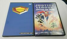 2 DVD lot Gatchaman Collection Volumes 1, 2 & 3 & Justice League on trial