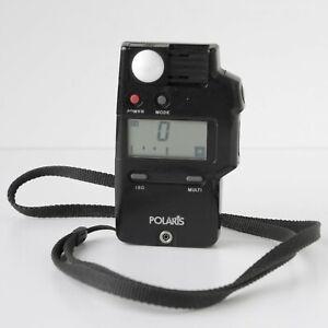 Tested Polaris Ambient & Flash Light Exposure Meter, Strap