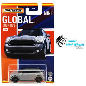 2021 Matchbox Global Series - 2011 Mini Countryman (Gray)