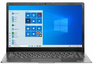 "Evoo Ultra Thin Laptop 14.1"" Full HD Intel Celeron N3350 4GB RAM 64GB SSD"