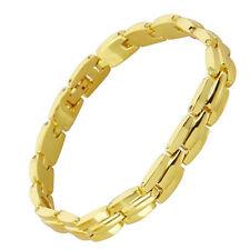 Magnet edel Armband goldfarben Gold Im Geschenk Etui mit 7 Magneten #1749