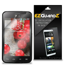 3X EZguardz LCD Screen Protector Cover HD 3X For LG Optimus L4 II (Ultra Clear)