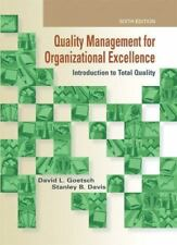 Quality Management for Organizational Excellence: Introduction to Total Qlty. ++