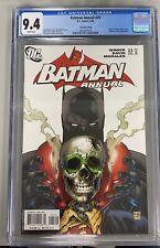 BATMAN ANNUAL #25 CGC 9.4 2nd PRINT VARIANT COVER ORIGIN JASON TODD'S RETURN