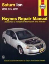 """""""NEW"""" SATURN ION 2003-2007 HAYNES REPAIR MANUAL"""