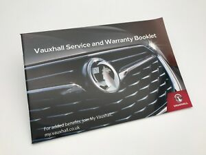 GENUINE Vauxhall COMBO LIFE Service Book 2019 New Style - NEW - No stamps