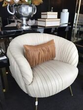 Leather Metal Modern Chairs