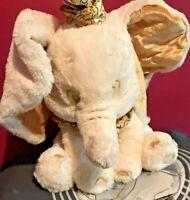 Dumbo the Elephant Disney Plush Toy  18 inches White and Gold
