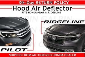 09-12 Honda Pilot AVS Bugflector II Hood Protectors Bug Shields Deflectors