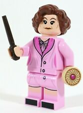 LEGO HARRY POTTER PROFESSOR DOLORES UMBRIDGE MINIFIGURE - MADE OF GENUINE LEGO