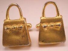 Hand Bag Vintage Cuff Links gift purse coach designer lady
