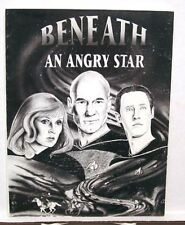 1990 Star Trek Fanzine Beneath Angry Star Signed Number