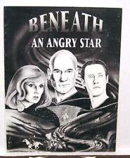 1990 STAR TREK Fanzine BENEATH ANGRY STAR Signed Number