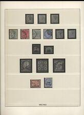 Malta 1885/53 collezione usata, linguellata, integra del periodo N1515