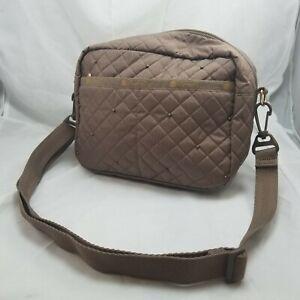 Lesportsac Daniella Crossbody Belt Bag Quilted Brown
