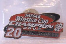 *Nascar 2004 Winston Cup Champion 20 Tony Stewart Hat Lapel Pin Badge Home Depot