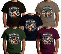 T-shirt Homme velocitee Lucky 7 bobber chopper Harley Biker w17362 classique
