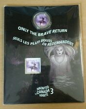 2016 HAUNTED CANADA Bell Island LENTICULAR COIN & STAMP SET